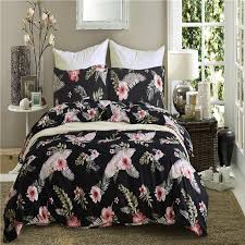 red print bedding sets 2 bed linings duvet cover pillowcases cover set usa twin queen king size bedspread polyester soft double duvet covers comforters sets