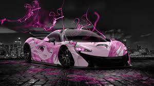 mclaren p1 pink. mclarenp1animeaerographygirlcitycar2014 mclaren p1 pink