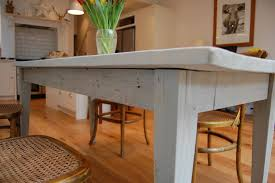 Reclaimed Oak Dining Table How To Paint Over Polyurethane Woodwork
