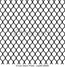 chain link fence vector. Seamless Chain Link Fence Pattern Texture Wallpaper - Csp36126595 Vector C