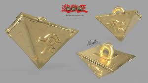 artstation yu gi oh millennium puzzle necklace jerome walton and