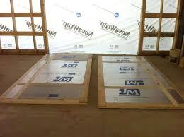 insulated barn door elegant white balcony mirrored sliding glass