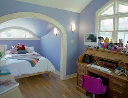 rolltop desk kids traditional with alcove archway attic conversion baseboards bedroom design build eyebrow