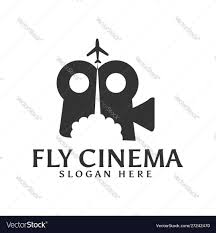 Music Video Logo Design Fly Cinema Film Video Music Recording Logo Design