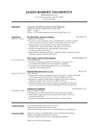 Resume Simple Resume Template Word 4 Basic Templates Download