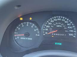 Chevy Trailblazer All Dash Lights On Various Warning Lights After Cold Starts Chevy Trailblazer