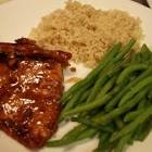 balsamic glazed cracked pepper salmon