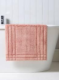 christy rectangular cotton bath rug