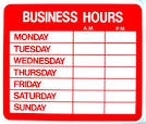 Images & Illustrations of business hours