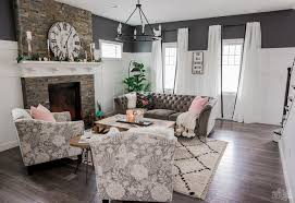 cozy rustic glam living room makeover