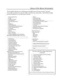 100+ [ Skill Resume Example ] | Skills Based Resume Template ...