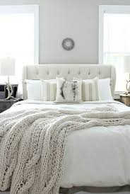 white and cream bedding.  And White And Cream Bedroom  For The Home Pinterest Bedroom Guest  Bedrooms House And Cream Bedding I