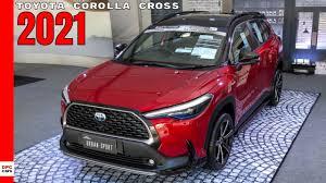 New Toyota Corolla Cross 2021 - YouTube