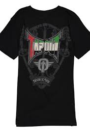 Tapout Clothing Size Chart Shop Tapout Uae Shield T Shirt Black For Clothing In United