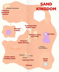 sand kingdom map