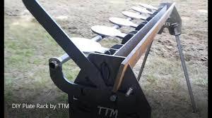 diy plate rack by ttm