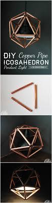 copper pipe pendant light