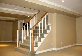 Open basement stairs Double Thickness Tread Basement Stairs Finishing Ideas Basement Stair Railing Reviews Basement Finishing Basement Staircase Finishing Open Basement Stairs Pinterest Basement Stairs Finishing Ideas Basement Stair Railing Reviews