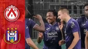 Kortrijk vs Anderlecht #KorAnd #Kortrijk #Anderlecht Match Highlights -  YouTube