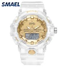 <b>2020 New SMAEL</b> Unisex Men watches men and <b>women</b> fashion ...