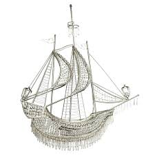 crystal ship chandelier medium size of inspiring galleon pendant pottery barn pirate antique vintage crystal ship chandelier view in gallery pirate