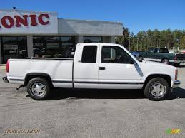 1996 Chevrolet C/K C1500 Extended Cab in Olympic White photo #8 ...