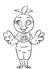 Five Nights At Freddy Coloring Pages Luxury Fnaf Mangle Coloring