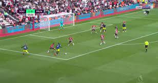 هدفا مباراة ساوثامبتون ومانشستر يونايتد