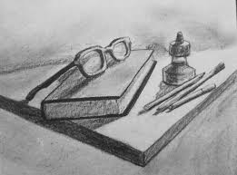 still life book and pencils by jaymeyer