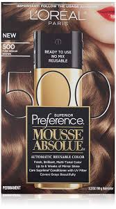 Loreal Paris Superior Preference Mousse Absolue 500 Pure Medium Brown