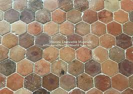 precious hexagon terracotta tile q1049 hexagon