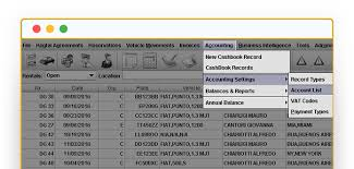 Accounting Management Software For Car Rental Industry Myrent