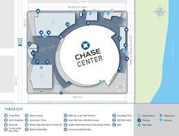 Chase Center Seating Chart San Francisco Chase Center Sf Restaurants What To Eat And Drink At The