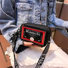 Designer Mini Crossbody Bag Us 2 59 30 Off Handbags Mini Crossbody Bags For Women Designer Letter Print Leather Square Bag Shoulder Messenger Bag Dropship 1017 On Aliexpress