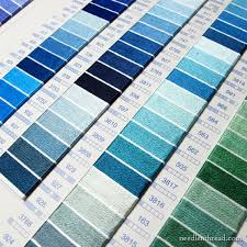 Soie D Alger To Dmc Conversion Chart All About Real Thread Color Cards Needlenthread Com
