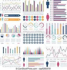 Financial Flow Chart Infographic Charts Financial Flow Chart Trends Graph Population Infocharts Statistics Bar Diagram Presentation Vector Infographics