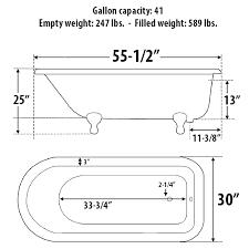 dimensions 55 1 2 x 30