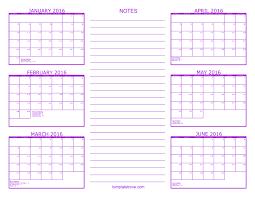 printable 6 month calendar 2019 free calendars to print pdf calendars