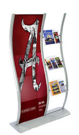 Flyer Display Stands Leaflet Stands with Poster Holders Make Promotions Stand Out 88