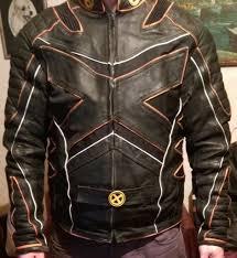 biker jacket wolverine style