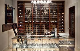 wine cellar furniture. Custom-wine-rooms - A Modern Wine Room With Custom Storefront Window, Cellar Furniture
