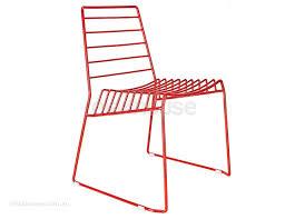 frankie cafe dining chair. frankie - modern wire dining chair- red cafe chair i
