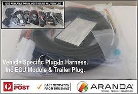 plug in towbar trailer wiring loom harness hyundai santa fe suv plug in towbar trailer wiring loom harness ecu module audi q7 suv 4l