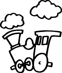Small Picture Train Cloud Coloring Page Wecoloringpage