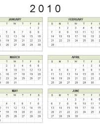 Microsoft Office 2010 Calendar Templates Download Free Printable 2010 Calendar Templates Photo