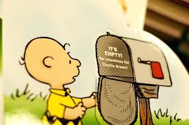 empty mailbox charlie brown. Charlie Brown Mailbox Q Its Empty By Kicks . X