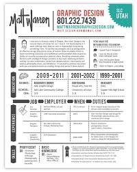 designs for resumes graphic designer resume infografia curriculum empleo https