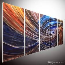 2019 metal wall art contemporary abstract painting abstract wall art metal painting wallmetal sculpture wall art handmade 100 top er