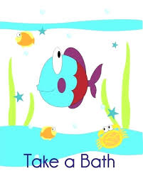 kids fish bathroom decor turtle and seahorse wall art by mirrors ideas fish bathroom kids
