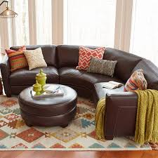 leather sectional the allerton